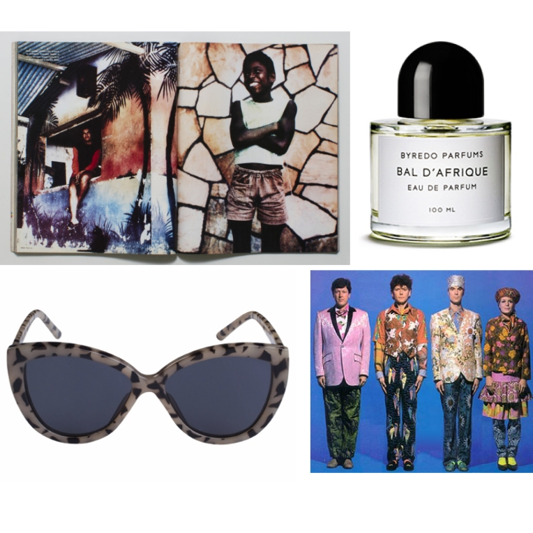 Best magazine : Per Lui, my scent : Bal d'Afrique, sunnies of the week : Cheap Monday, band of (my life) the summer : Thalling Heads